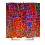 0325 Abstract Thought Shower Curtain