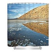 0330 Badwater Basin Shower Curtain