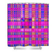 0333 Abstract Thought Shower Curtain