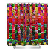 0337 Abstract Thought Shower Curtain