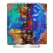 Expression With Vision Shower Curtain