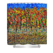 035 Fall Colors Shower Curtain