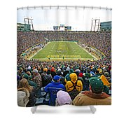 0350 Lambeau Field Shower Curtain