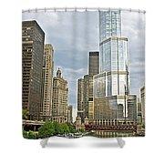 0359 Trump Tower Shower Curtain