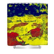 0375 Abstract Thought Shower Curtain