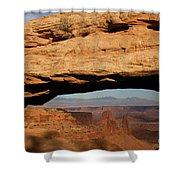 0375 Mesa Arch Shower Curtain
