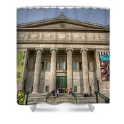 0446 Field Museum Chicago Shower Curtain
