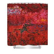 045 Abstract Thought Shower Curtain
