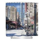 0450 Wabash Avenue Chicago Shower Curtain