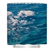 0458 Above The Caribbean Shower Curtain