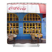 0461 Curacao Shower Curtain