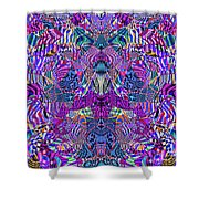 0476 Abstract Thought Shower Curtain
