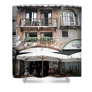 0505 Verona Cafe Shower Curtain