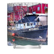 0512 Oregon Coast Shower Curtain