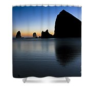 0514 Cannon Beach - Oregon Shower Curtain