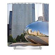 0553 Millennium Park Chicago Shower Curtain