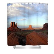 0583 Moument Valley Shower Curtain