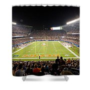 0586 Soldier Field Chicago Shower Curtain by Steve Sturgill