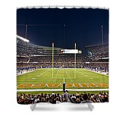 0587 Soldier Field Chicago Shower Curtain by Steve Sturgill