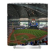 0611 Miller Park Shower Curtain