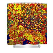 0621 Abstract Thought Shower Curtain