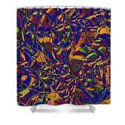 0630 Abstract Thought Shower Curtain