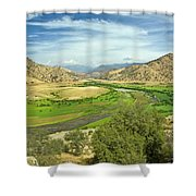 0636 Kings Canyon National Park Shower Curtain