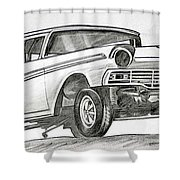066-rev It Shower Curtain