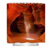 0677 Upper Antelope Canyon Shower Curtain