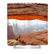 0708 Mesa Arch Shower Curtain