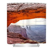 0710 Mesa Arch Shower Curtain