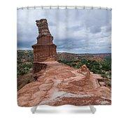 07.30.14 Palo Duro Canyon - Lighthouse Trail 47e Shower Curtain