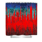0738 Abstract Thought Shower Curtain