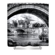 0750 St. Peter's Basilica Shower Curtain