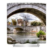 0751 St. Peter's Basilica Shower Curtain