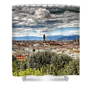 0753 Florence Italy Shower Curtain