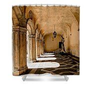 0758 Doge Palace - Venice Italy Shower Curtain