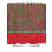 0764 Abstract Thought Shower Curtain