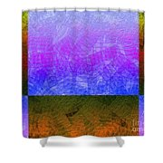 0770 Abstract Thought Shower Curtain