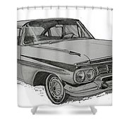 079-car Shower Curtain