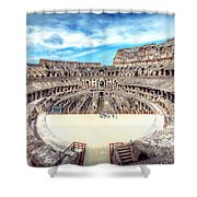 0795 Roman Colosseum Shower Curtain