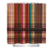 0842 Abstract Thought Shower Curtain