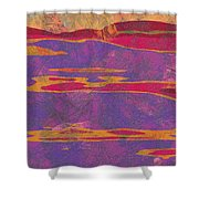 0858 Abstract Thought Shower Curtain