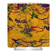 0859 Abstract Thought Shower Curtain