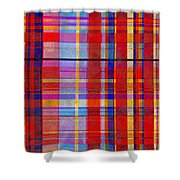 0865 Abstract Thought Shower Curtain