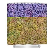 0872 Abstract Thought Shower Curtain
