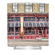 0875 Emmett's Tavern And Brewing Company Shower Curtain