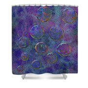 0877 Abstract Thought Shower Curtain