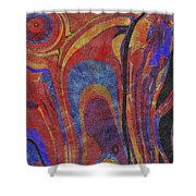 0880 Abstract Thought Shower Curtain