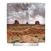 0883 Monument Valley Shower Curtain